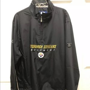 Steelers Equipment Pullover Black new with tags M